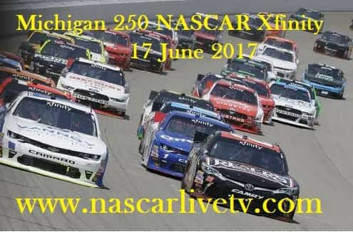 Michigan 250 NASCAR Xfinity live