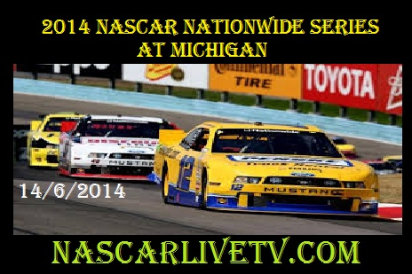 NASCAR Nationwide Series at Michigan