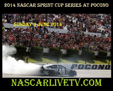 NASCAR Sprint Cup Series at Pocono live