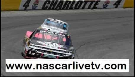 NASCAR Camping World Truck Series Charlotte Race live