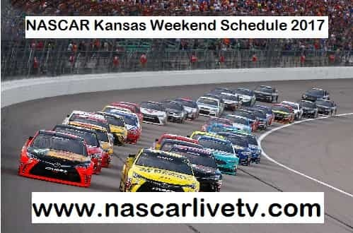 NASCAR Kansas Weekend Schedule 2017