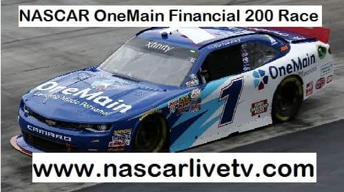 NASCAR OneMain Financial 200 live