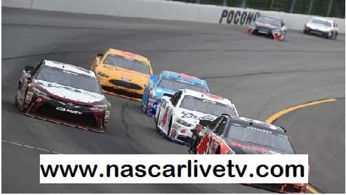 NASCAR Pocono Weekend Schedule 2017