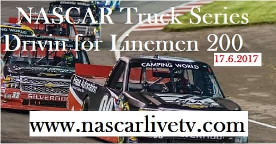 NASCAR Truck Series Drivin for Linemen 200 live