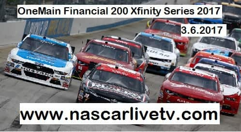 OneMain Financial 200 Xfinity Series live