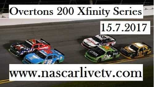Overtons 200 Xfinity Series live