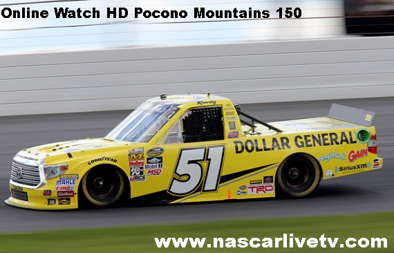 Pocono Mountains 150 Live