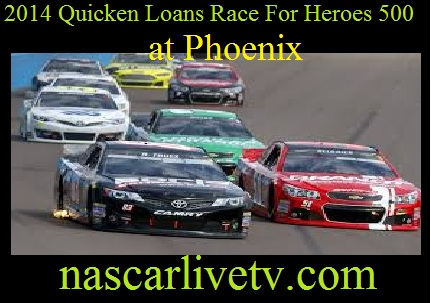 Quicken Loans Race For Heroes 500 at Phoenix