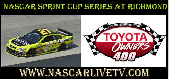 NASCAR Sprint Cup Series at Richmond live