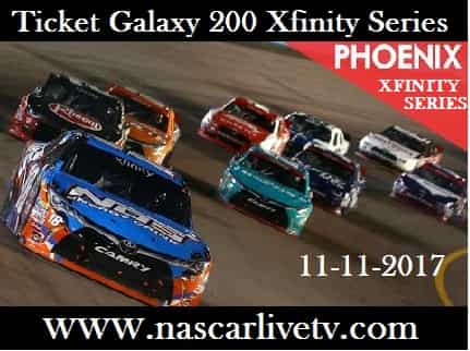 Ticket Galaxy 200 Xfinity Series