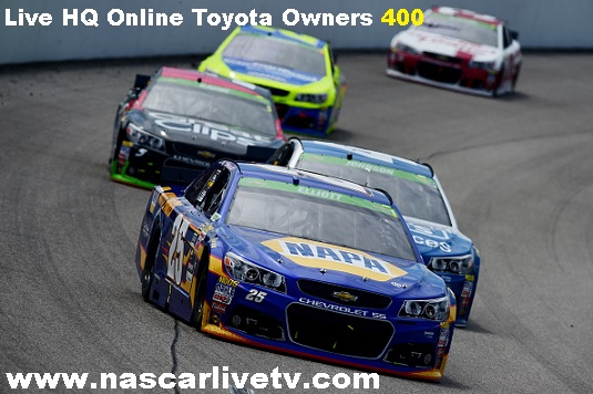 Toyota Owners 400 Live