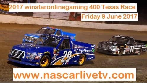 Winstaronlinegaming 400 Texas Race LIVE