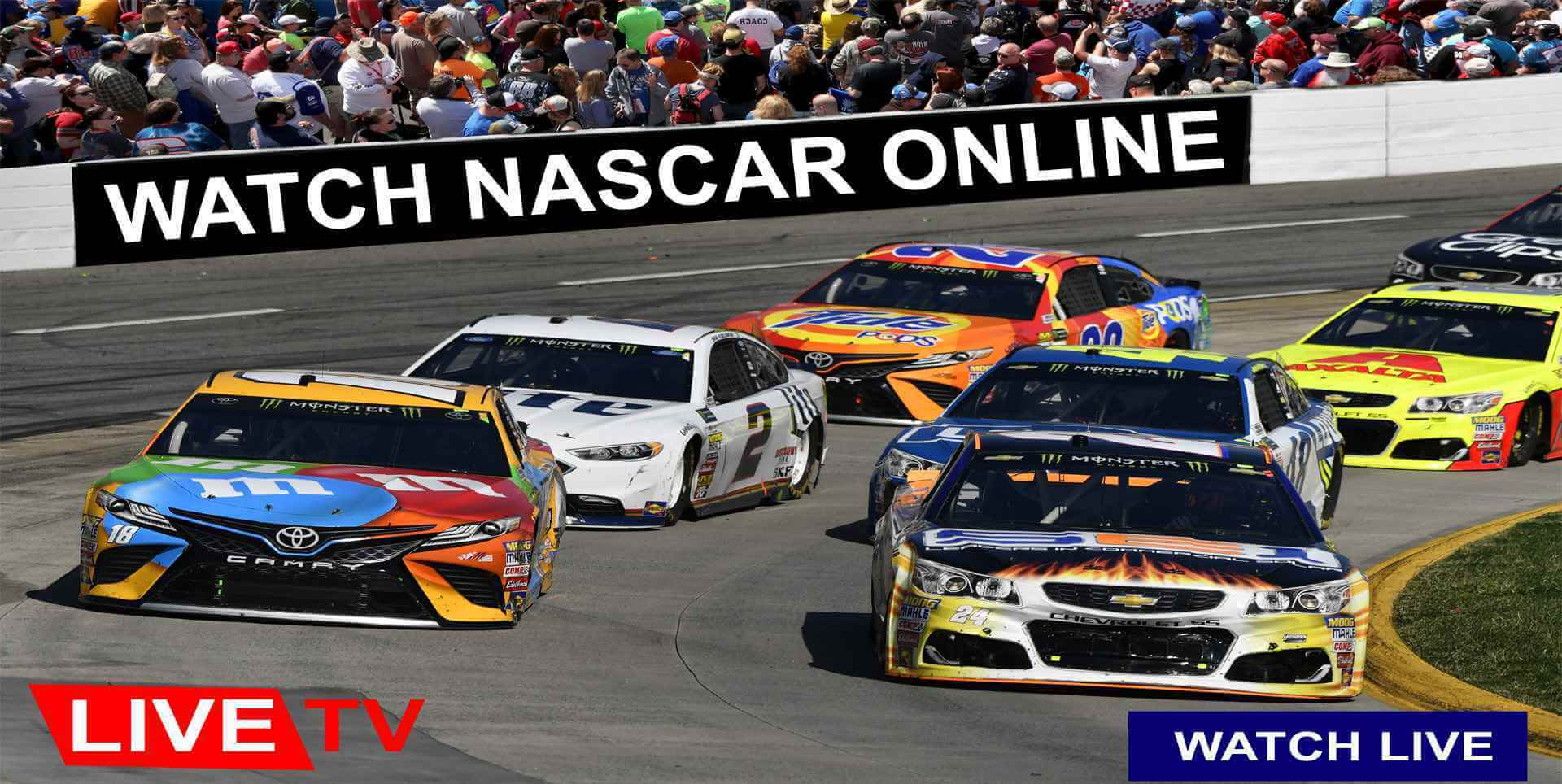 Watch NASCAR Online 2019 | NASCAR Live Stream, Highlights, Schedule & Results slider